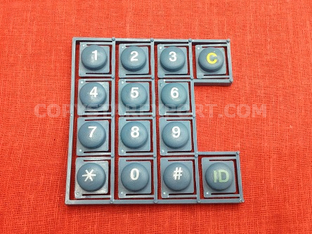 KEY TOP, NUMBER  (FOR STEEL SWITCH)