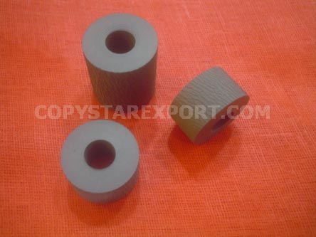 ADF ROLLER, REGISTRATION RUBBER ONLY (SET OF 3 PCS)